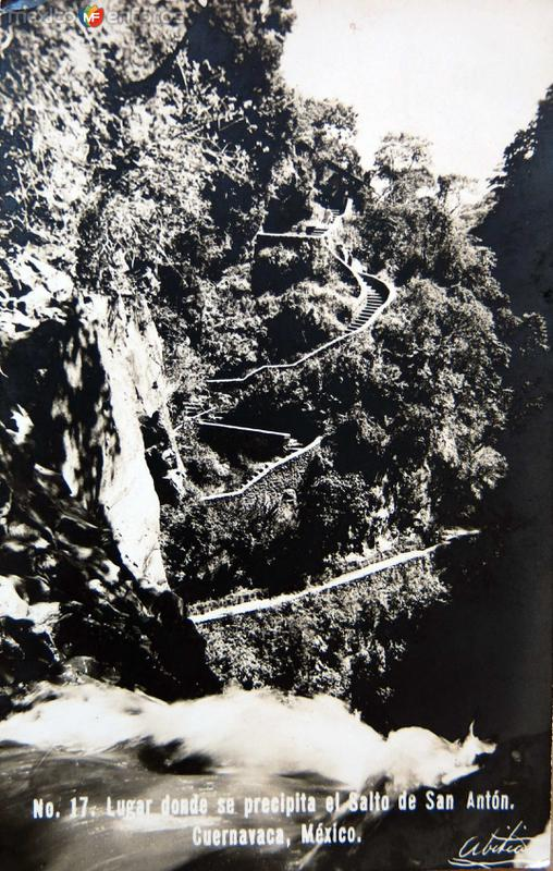 Cascada San Anton Hacia 1945