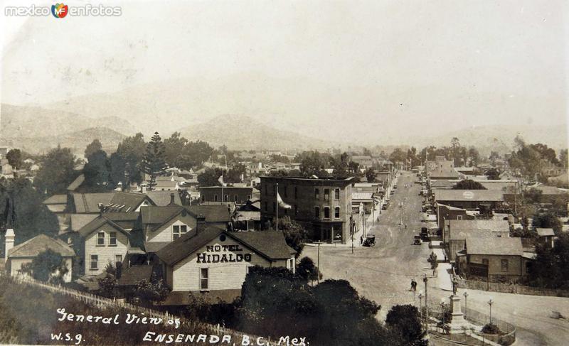 Hotel Hidalgo Hacia 1945