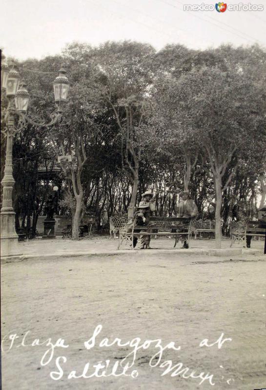Plaza Zaragoza Hacia 1945