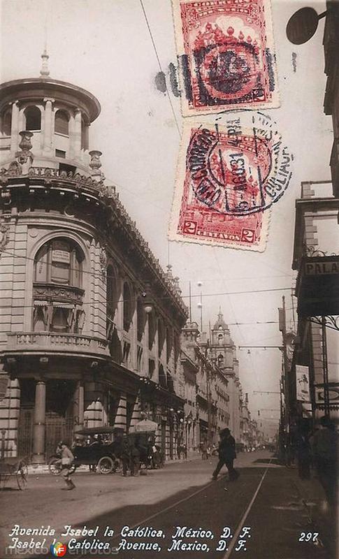 avenida Isabel la catolica Hacia 1930