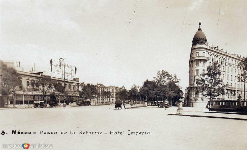 Hotel Imperial Hacia 1970