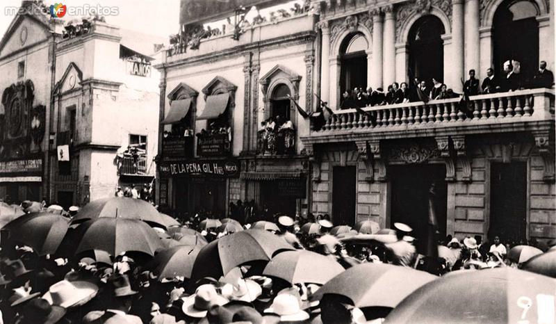 Dia de la Independencia Hacia 1945