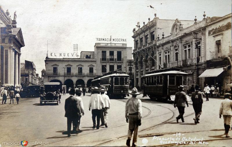 Plazuela de Catedral Hacia 1930