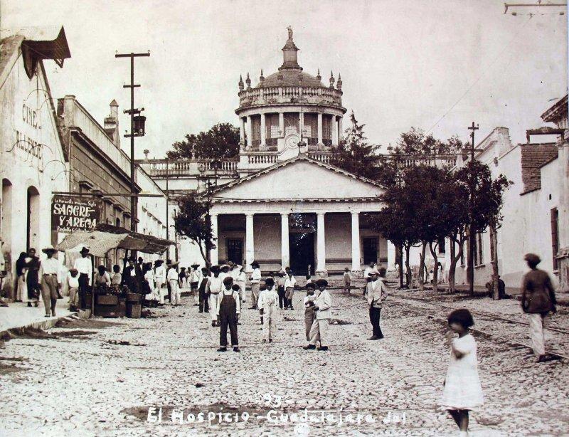 Hospicio Cabañas Hacia 1920
