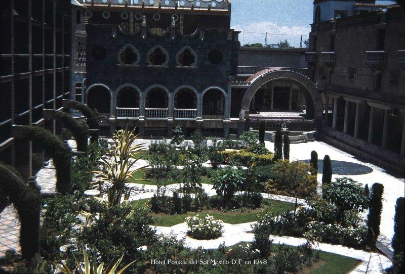 Hotel Posada del Sol Hacia 1948