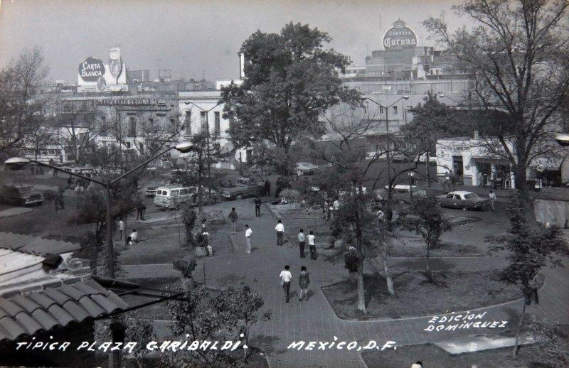 Plaza Garibaldi Hacia 1957