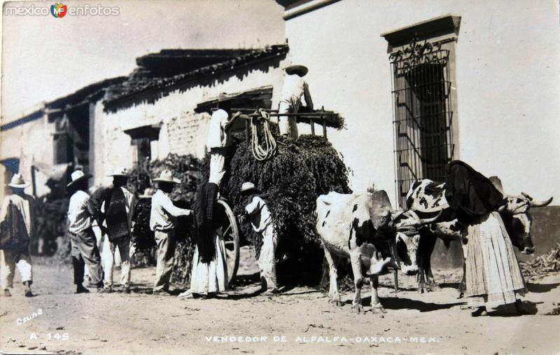 Vendedores de Alfalfa Hacia 1945