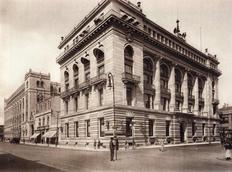 Edificio de la Mutua (circa 1920)