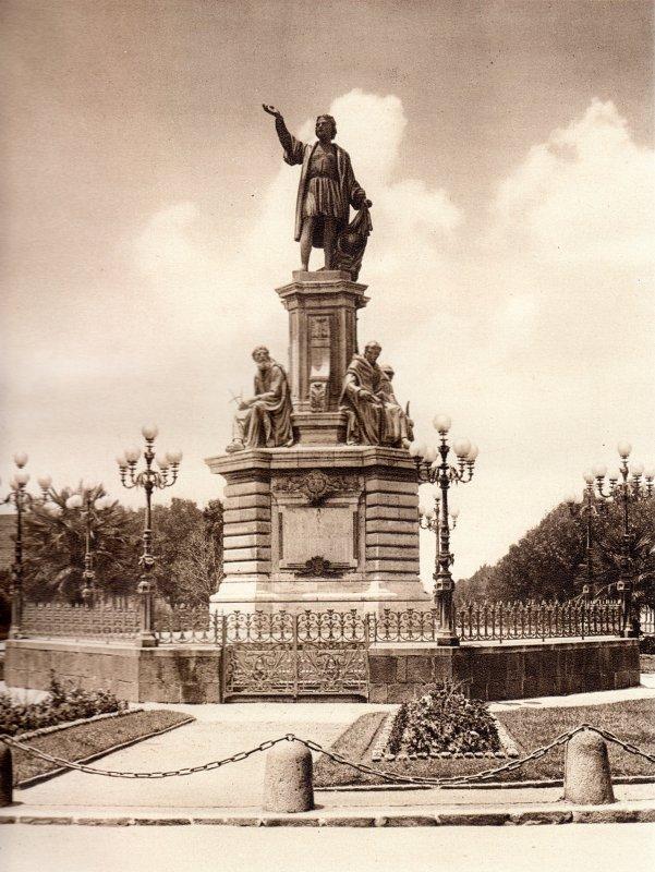 Monumento a Colón (circa 1920)