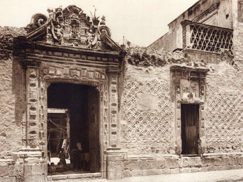 Casa de los descendientes de Moctezuma (circa 1920)