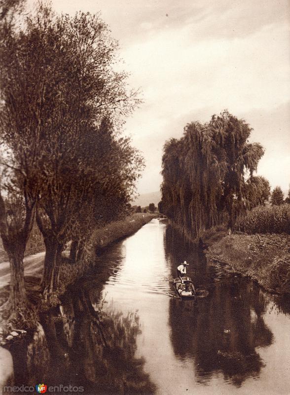 Canal de la Viga (circa 1920)
