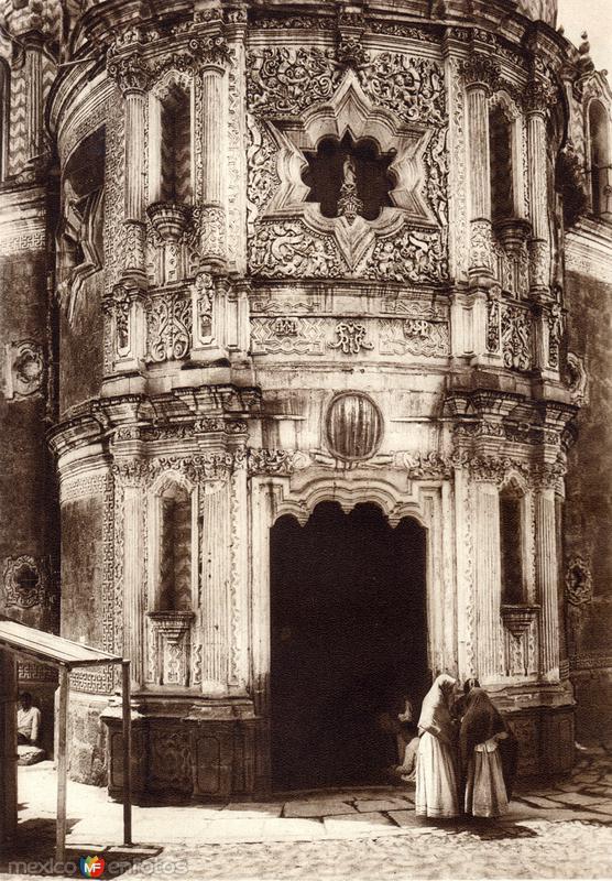 Capilla del Pocito, el a Basílica de Guadalupe (circa 1920)