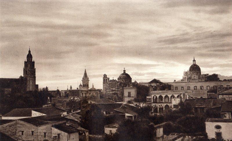 Vista panorámica de Cuernavaca (circa 1920)