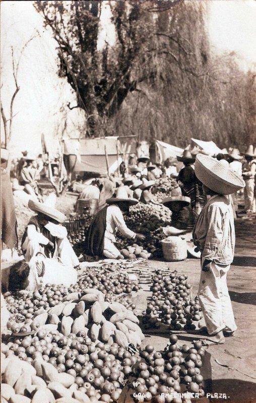 Mercado Hacia 1945