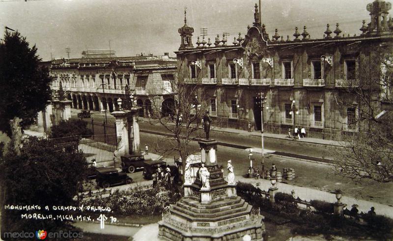 Mto a Ocampo hacia 1945