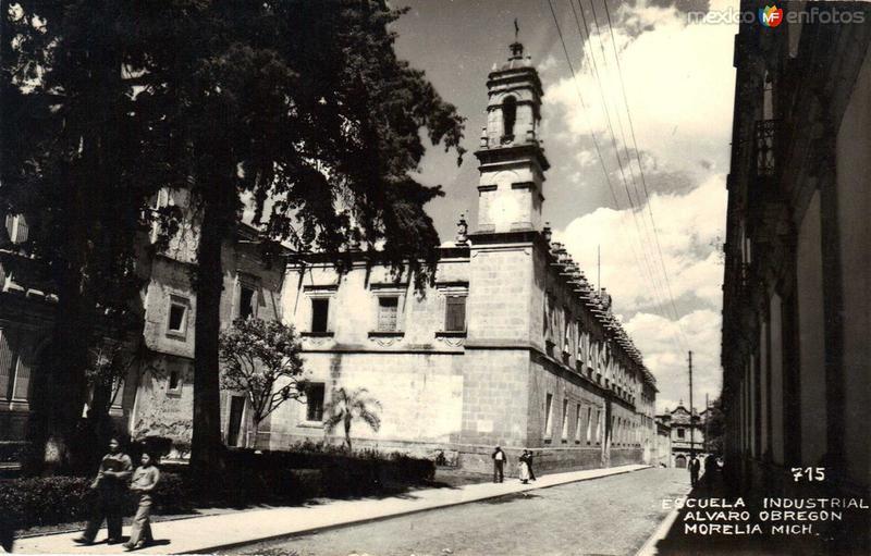 Escuela Industrial hacia 1945