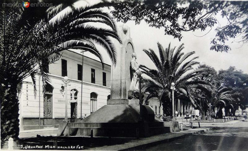 Escena de una Calle Hacia 1945