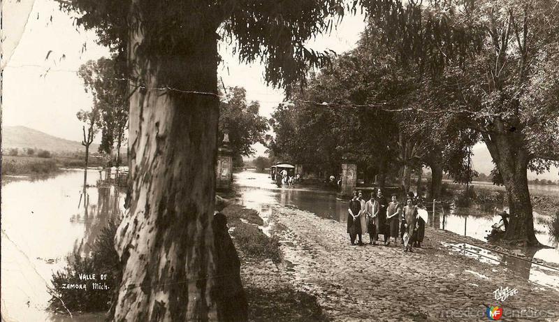 El Valle Hacia 1900