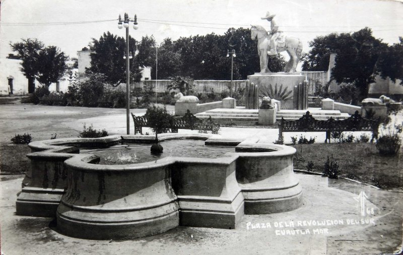 Plaza Revolucion del Sur Hacia 1945
