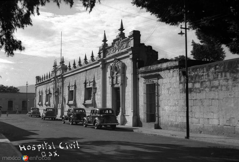 Hospital Civil hacia 1945