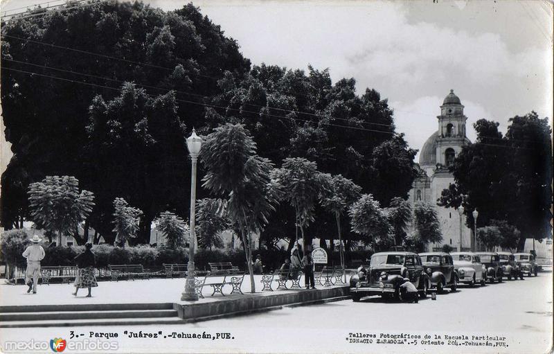 Parque Juarez Hacia 1945
