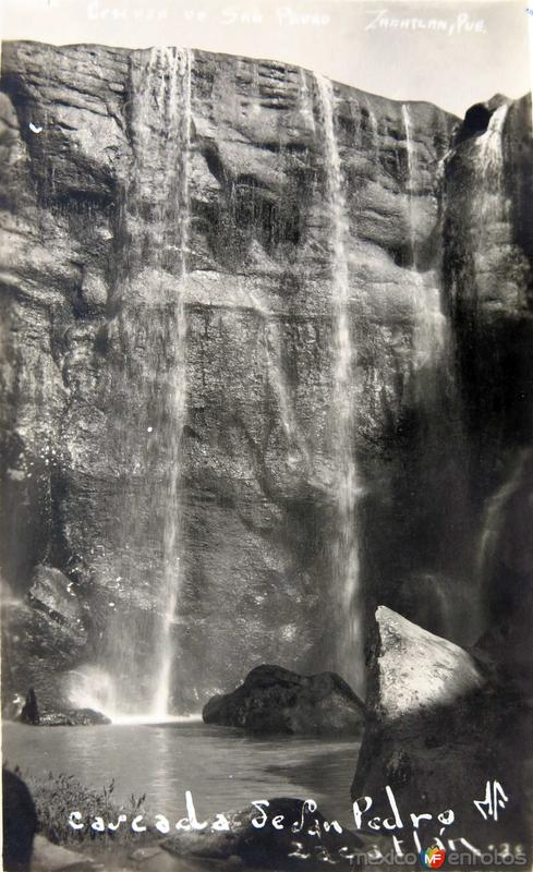 Cascadas de San Pedro