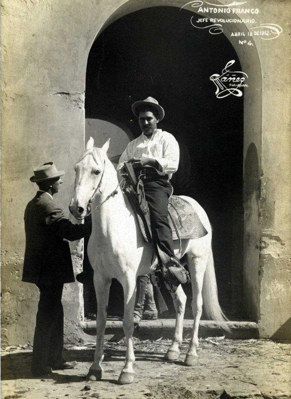 Antonio Franco Jefe Revolucionario