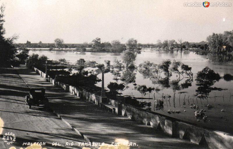 Malecon del Rio Tamazula Hacia 1940