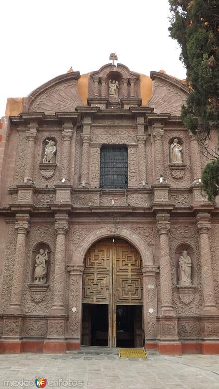 Fachada del Oratorio de San Felipe Neri (1712). Abril/2014
