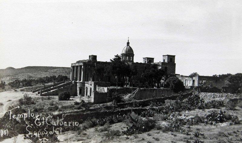 Templo de el Calvario Hacia 1945