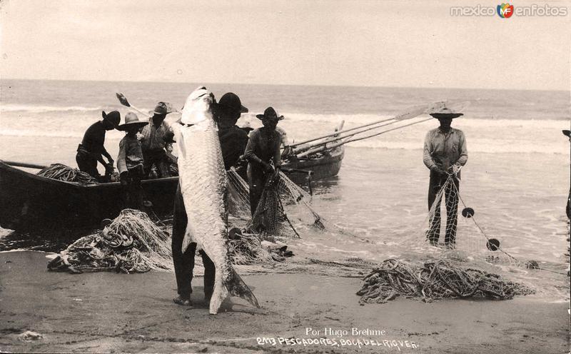 Pescadores por HUGO BREHME