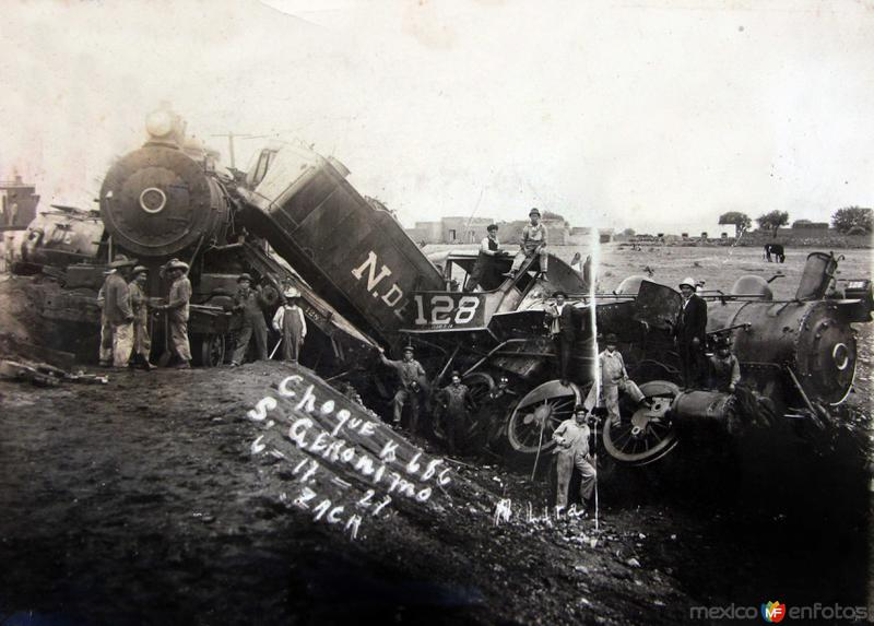 Accidente Ferroviario 6 de Junio de 1927