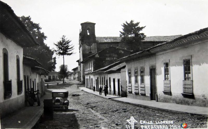 Calle Lloreda Hacia 1945