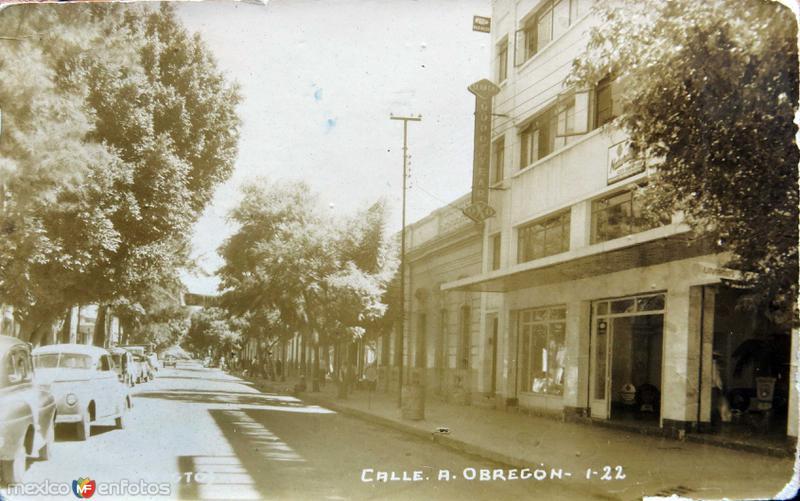 Calle Alvaro Obregon