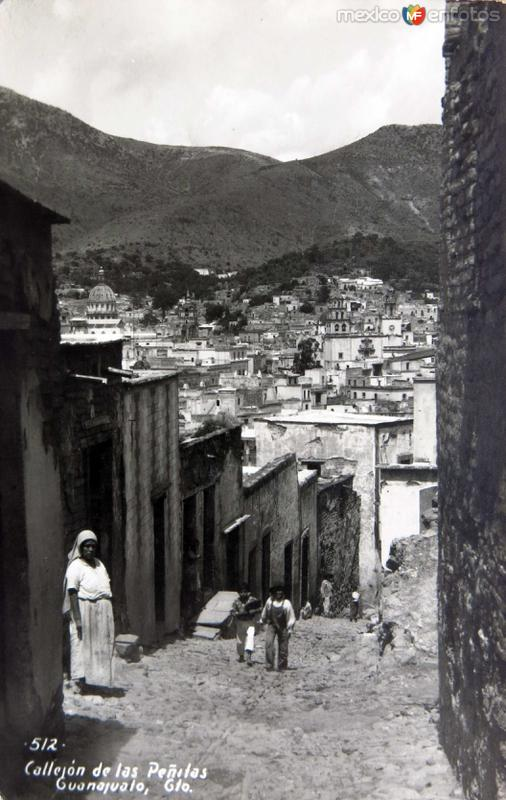 Callejon de las Penitas Hacia 1945