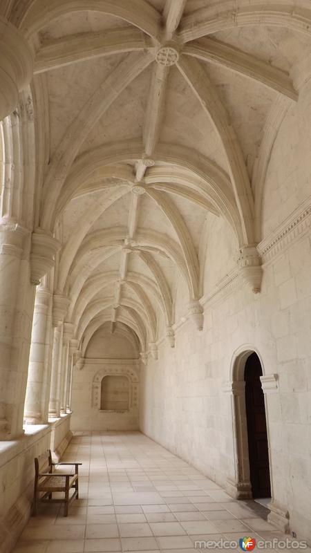 Pasillos del claustro del ex-convento dominico. Julio/2014