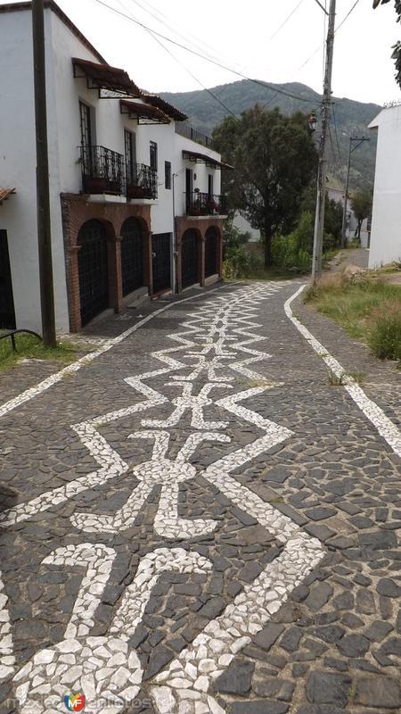 Calles del pueblo mágico de Taxco. Julio/2014