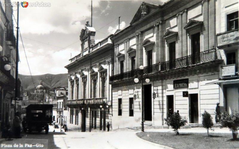 Plaza de la Paz Hacia 1945