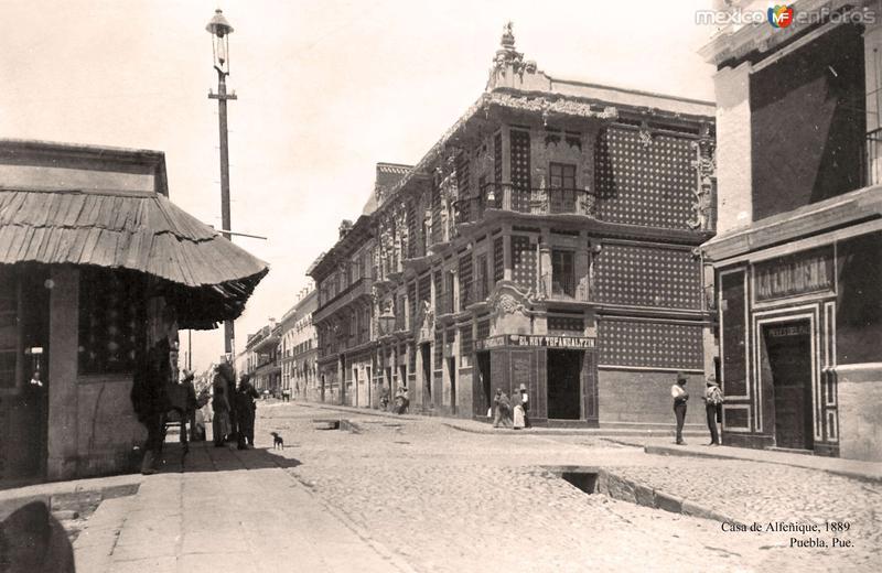 Puebla, Casa de Alfeñique, 1889