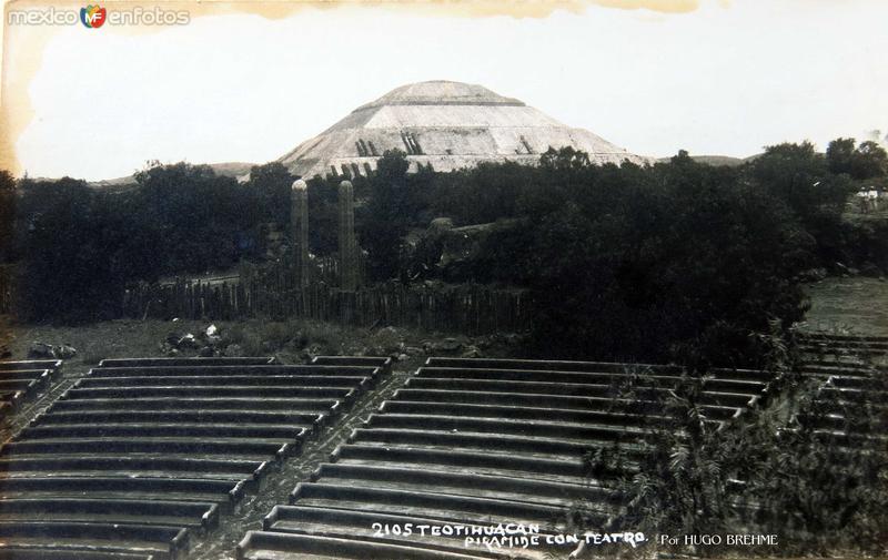 Panorama Por HUGO BREHME Hacia 1930