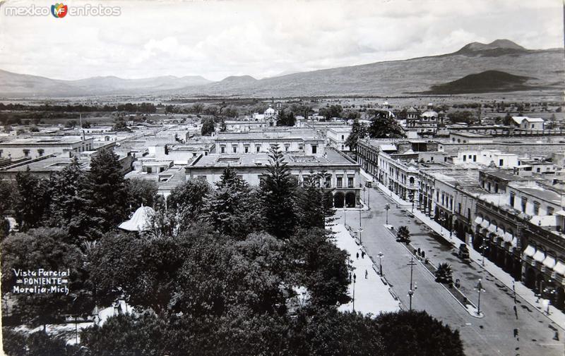 Vista parcial Hacia 1945