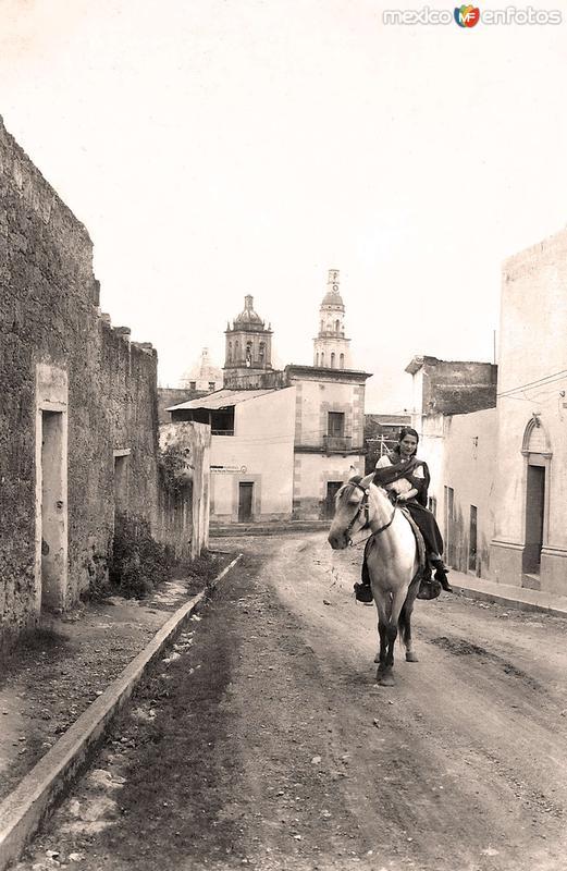 Villa de Santiago, calle típica
