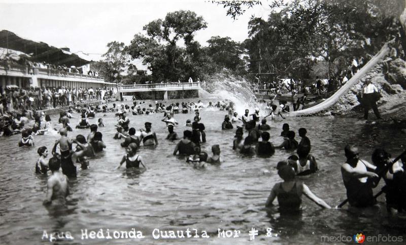 Balneario Agua Hedionda Hacia 1945