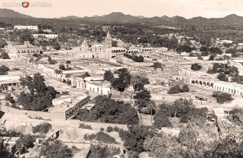 Álamos, vista panorámica, 1931