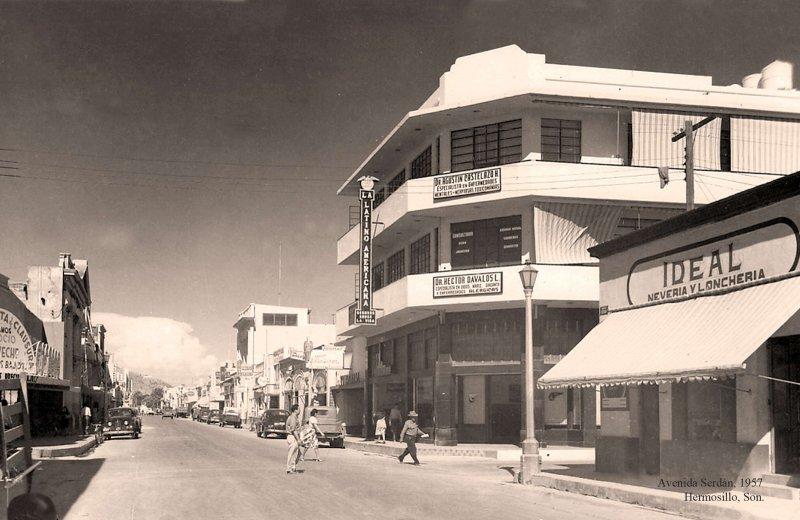 Hermosillo, Avenida Serdán, 1957
