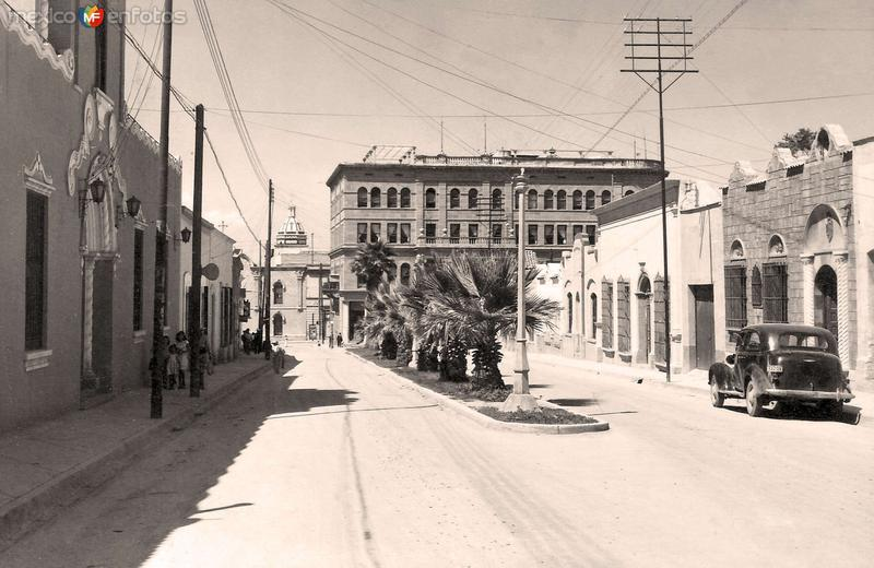Saltillo, Calle Morelos, 1952