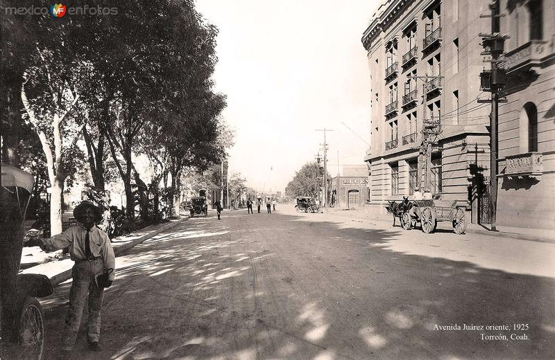 Torreón, Avenida Juárez Oriente