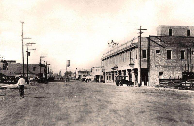 Mexicali, Calle Azueta, 1924