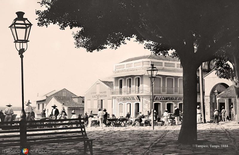 Tampico, Plaza, 1884