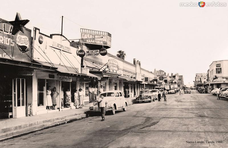 Nuevo Laredo, calle céntrica